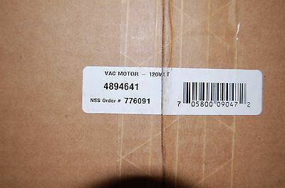 NSS New Replacement Vacuum Motor # 4894641 Voltage 120