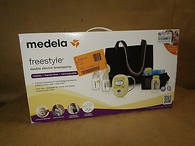 Medela Freestyle Double Electric Breastpump Deluxe Set 2015