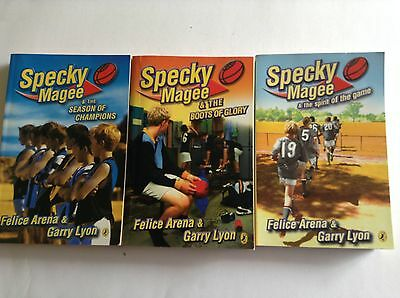 3 SPECKY MAGEE BOOKS Bulk Lot
