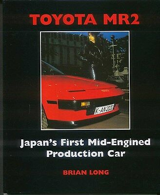 Toyota MR2 Japan's 1st Mid engined production car from SV-3 to MR-S by Long