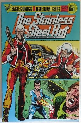 1985 The Stainless Steel Rat #1  -  Vg                          (Inv12557)