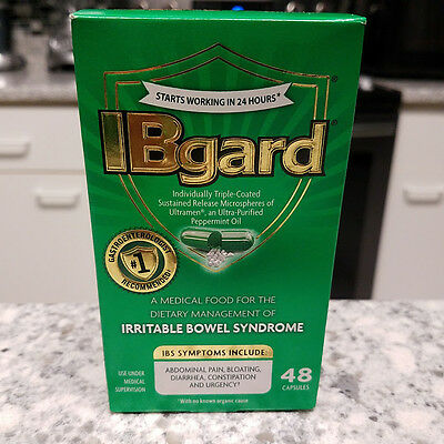 *2018 Exp* IBgard Dietary Management Irritable Bowel Syndrome 48 Capsules IBS
