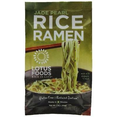 Lotus Foods Rice Ramen Noodles Jade Pearl Rice With Miso Soup (Pack of 10)