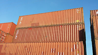 Used Storage Container for Sale 40ft WWT - $1250. Seattle, WA