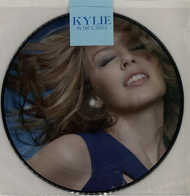 """Kylie Minogue All The Lovers 7"""" Vinyl Picture Disc New"""