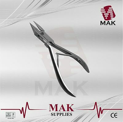 """MAK"" 5"" Toe INGROWN Nail Clippers Cutters Chiropody Heavy Duty - Thick Nail"