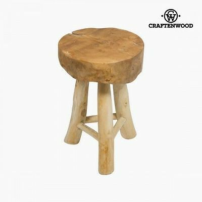 Wooden stool milan by Craftenwood 7569000907403
