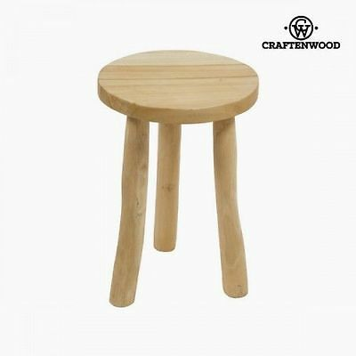 Owen wooden stool by Craftenwood 7569000907465
