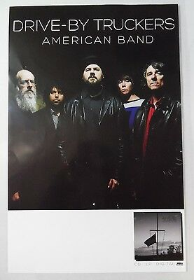 "Drive-By Truckers - American Band * 2 Sided 11"" x 17"" Official Promo Poster"