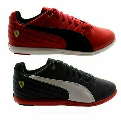 Puma Pedale SF Mens Red Black Synthetic Lace up Trainers 305150 01 03 - D3 862ecb9ab