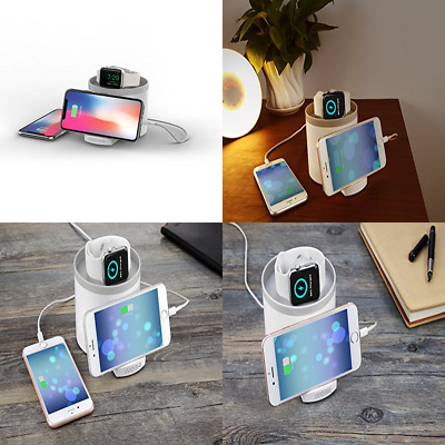 WALL DOCK Black Charger Charging Docking Station For iWatch APPLE WATCH