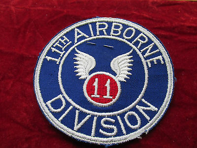 11th Airborne Division Patch Fully Embroired attached tab w/store tag PX Style