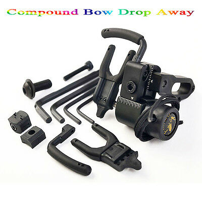 Compound Bow Drop Away Fall Away Arrow Rest for Archery Hunting Shooting Trainin