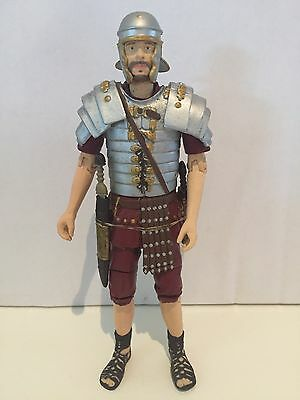 FREE POST rare DR WHO FIGURE 5 inch ROMAN SOLDIER - FIRES OF POMPEII doctor