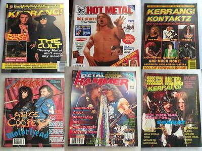Music Magazine Kerrang Raw Rock Metal Hammer