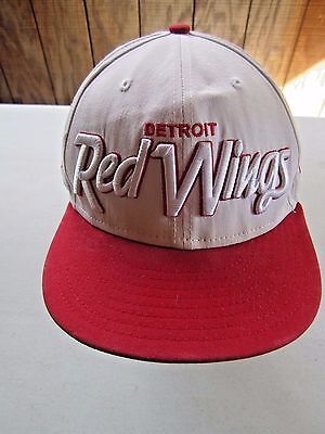 267f7de98e2 NEW NEW ERA Detroit Red Wings 9Fifty Original Fit Snapback Hat Cap ...