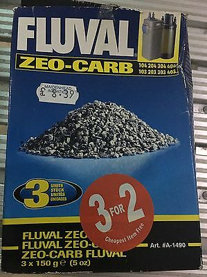 Fluval Zeo Carb 2x 150g