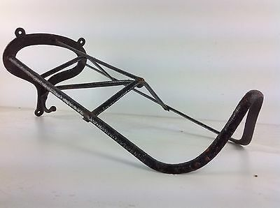 Victorian Saddle Bridle Hook Architectural Antique Horse Riding Old Rack Coat
