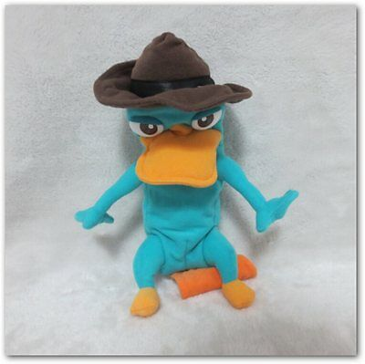 Perry Ornitorrinco Phineas and Ferb Transforming Plush Toys  22cm Stuffed