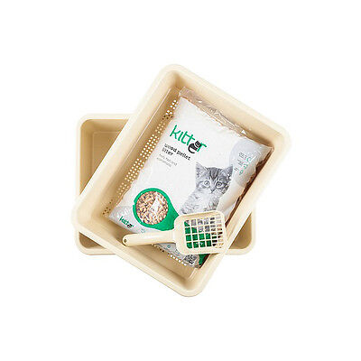 Kitter Cat Litter Tray with Sieve