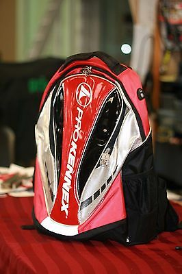 Prokennex Racquetball Backpack Red