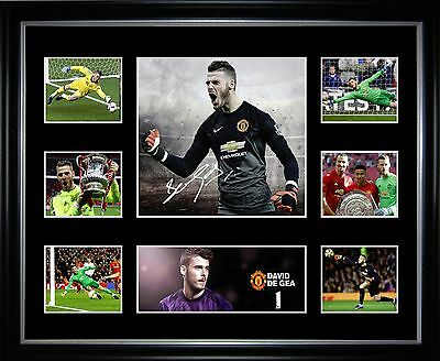 David De Gea Signed Framed Memorabilia