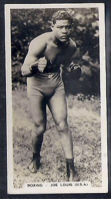 Pattreiouex-Sporting Celebrities (F54)-#32- Boxing - Joe Louis (Extremely Rare)