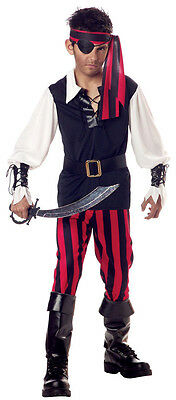 Cutthroat Pirate Buccaneer Child Costume Halloween Boys Kid Party X-Small XS 4-6