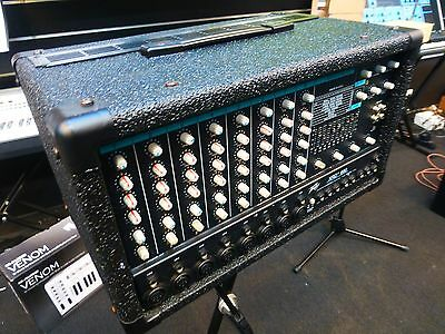 Peavey Xrd-680 8-Channel Powered Mixer Combo Amplifier With Eq+Effects Xrd680