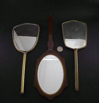 Props Collection Of 3 Antique Dressing Table Mirrors
