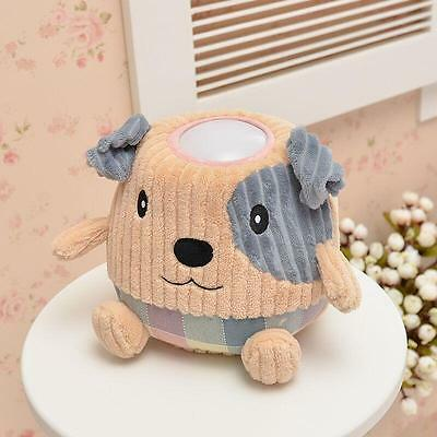 NEW Hugglo Plush Night Light - Puppy - Childrens Plush Toy with Removable Lamp