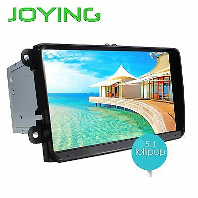 "Joying Android 5.1 9"" Double 2din Car Stereo Radio GPS Navi for VW CC Jetta EOS"