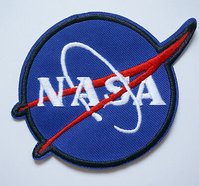Embroidered NASA Space Man Iron On Sew Patch Badge Bag T-Shirt Jeans Applique