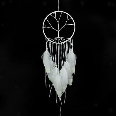 White Tree of Life Shapes Dream Catcher Fluorescent Home Wall Hanging Decor