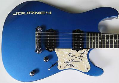 Steve Perry JOURNEY Signed Autograph Guitar