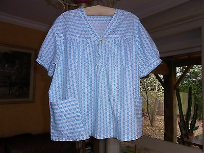 TUNIQUE FILLE FILLETTE COTON T10/12A VINTAGE 50/60  GIRL BLOUSE TUNIC size10/12y