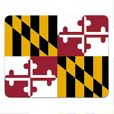 Mouse Pad - MARYLAND FLAG - USA - State of Maryland - mousemat - mousepad