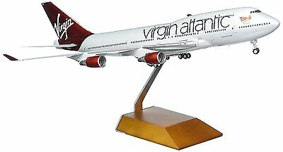 Gemini Jets G2VIR608 Virgin Atlantic Boeing 747-400 G-VXLG Diecast 1/200 Model