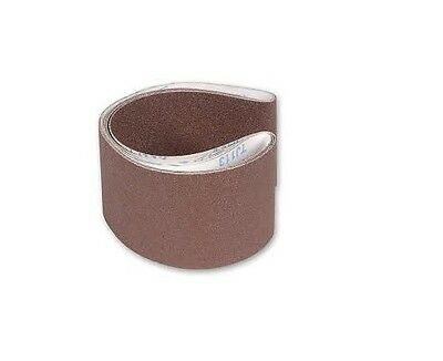 Cloth Sanding Belts 100mm x 915mm available in 40G,60G,80G,120G & Mix Grit Packs