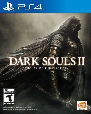 Dark Souls 2 II Scholars of the First Sin PS4 Game Brand New & Sealed