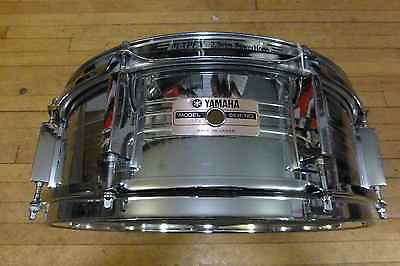 """Yamaha 5x 14"""" Steel SD550MD Snare Drum"""