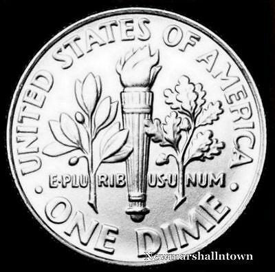 2009 P Roosevelt Uncirculated Dime ~ BU Raw Coin from Bank Roll