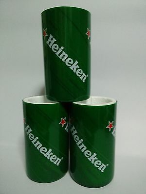 3 pcs. Original Heineken Beer Foam Insulated Bottle Can Cooler