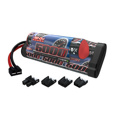 Venom 9.6V 5000mAh 8 Cell Hump Pack NiMH Battery with Universal Plug System