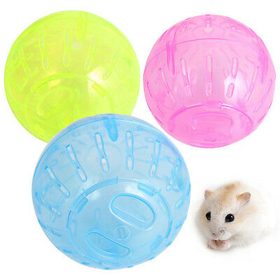 Pet Play Exercise Rodent Jogging Mice Hamster Gerbil Rat Small Ball Plastic Toy
