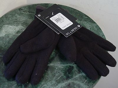 New Nike Unisex Boy Girl Fleece Gloves Youth 8-20 Black/Grey