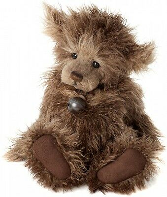 New **COLLECTABLE HANDMADE FULLY JOINTED CHARLIE BEAR ~ SCRUFFY LUMP** 30cm