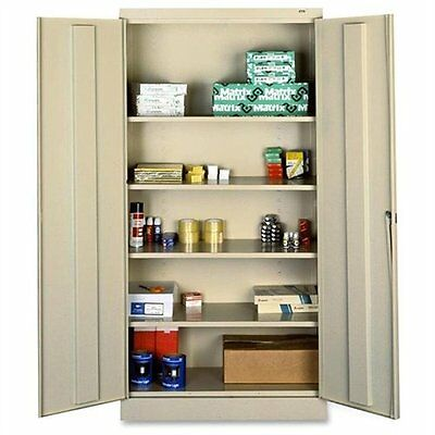 "Tennsco Full-height Standard Storage Cabinet - 36"" X 18"" X 72"" - Security Lock -"
