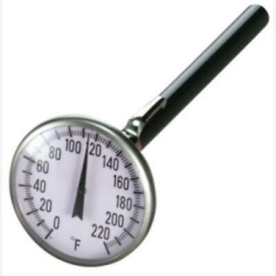 "Mastercool 91120 1-3/4"" Pocket Analog Thermometer"