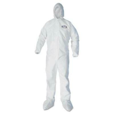 Kleenguard A40 Protection Coveralls - 2-xtra Large - 25 / Carton - White (44335)